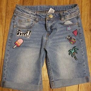 Girls size 10 reg shorts